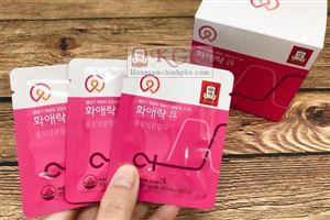 Công dụng tuyệt vời của viên hồng sâm cho phụ nữ Hwa Ae Rak