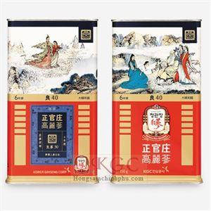 Lương Sâm củ khô KGC hộp thiếc 150g (12 củ)