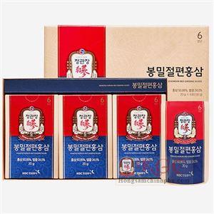 Hồng Sâm thái lát tẩm mật ong Cheong Kwan Jang hộp nhỏ 6 gói